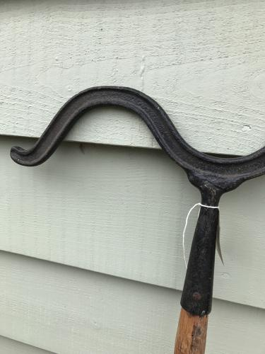 Antique Shepherd's Dipping Crook (Cast Iron)