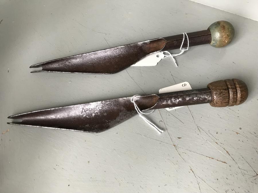 Vintage Gardener's Fern Trowels
