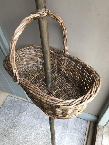 Walking stick basket Trug