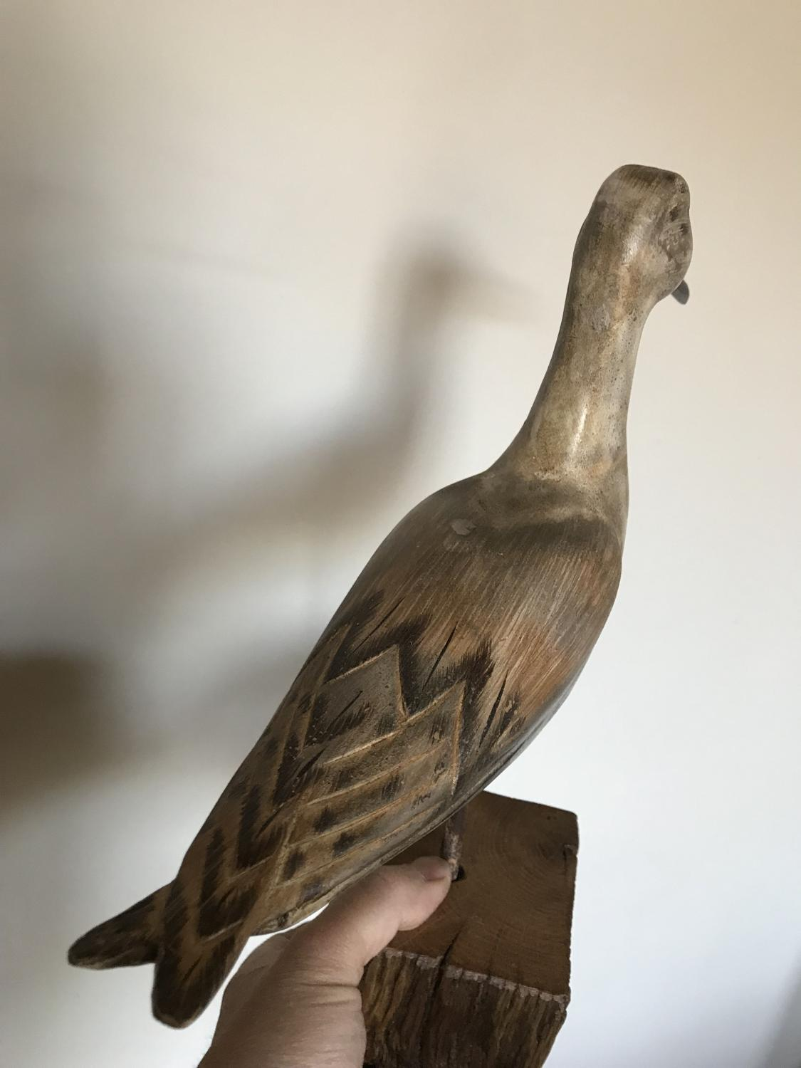Vintage Bird Decoy – Wader