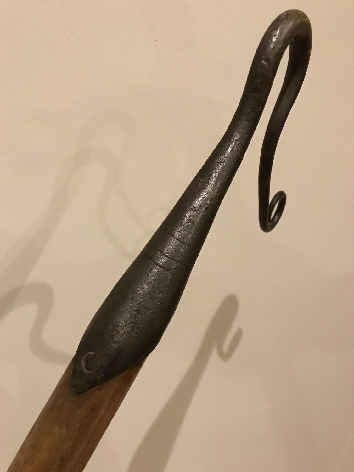 Antique Sussex Shepherd's Crook