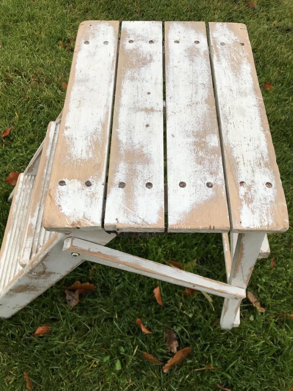 Vintage Folding Steps