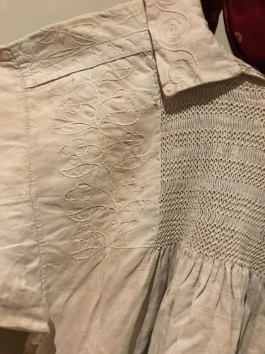 19th Cent English Shepherd's Smock