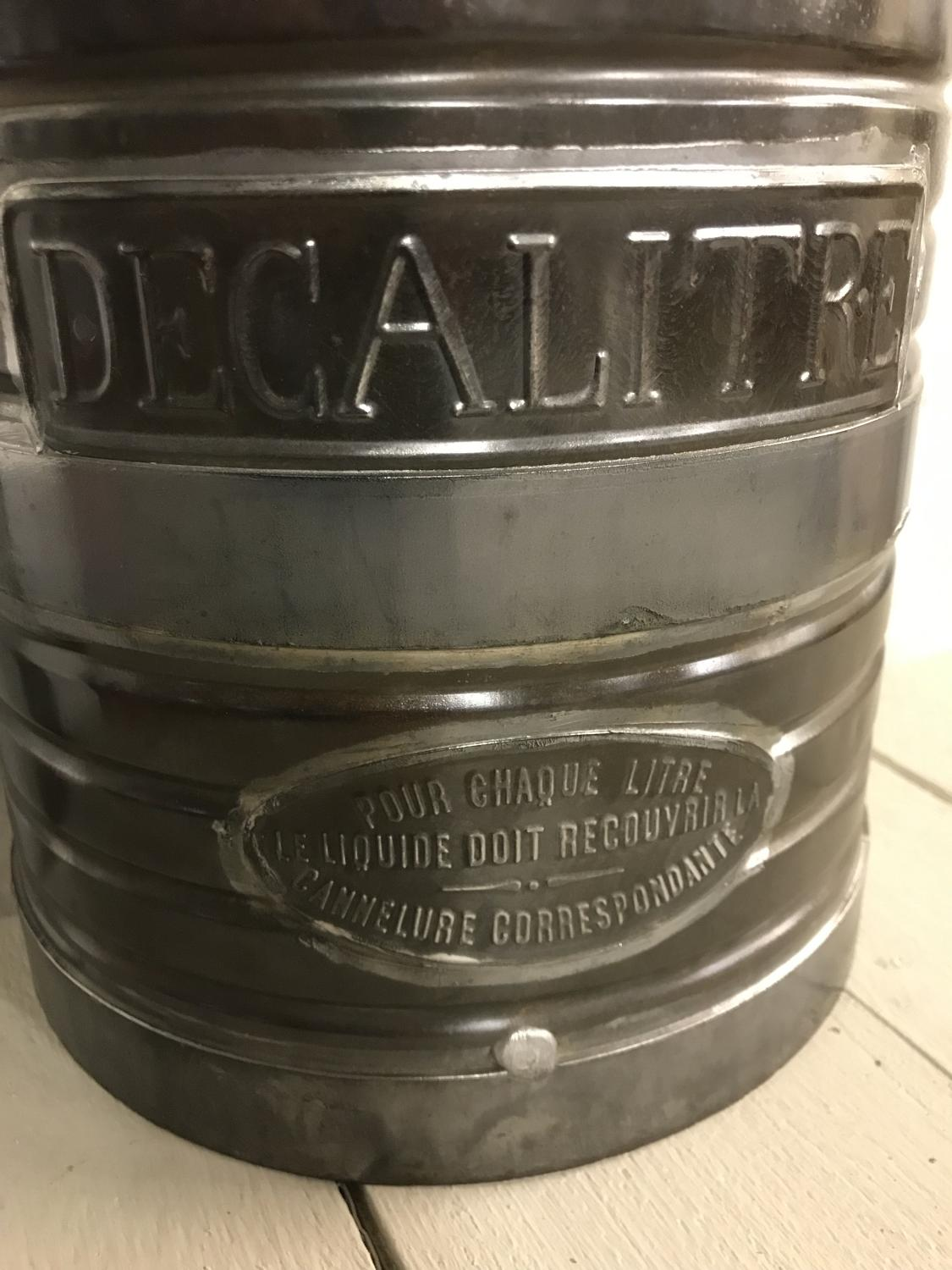 Vintage French Decalitre Measure
