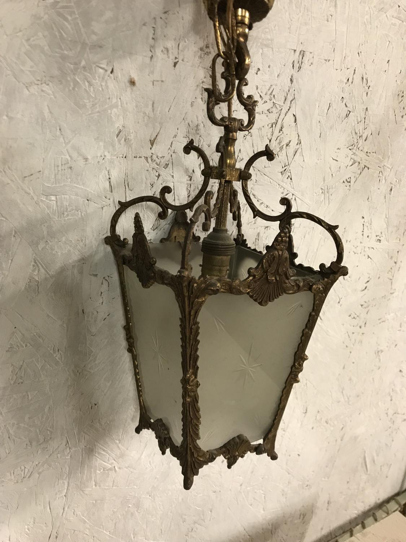 Vintage French Gilt Light