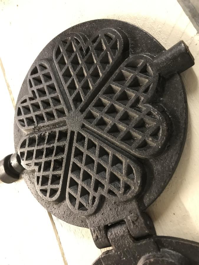 Antique Waffle Iron