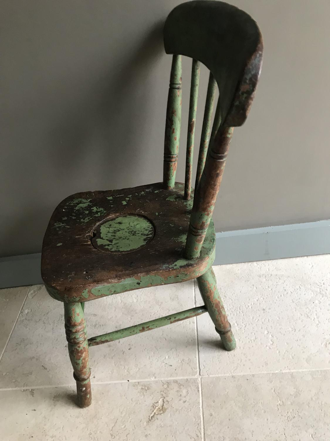 Child's Comode Chair