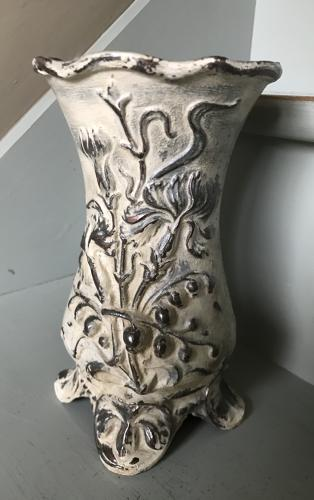 French cast Iron Florist's Vase