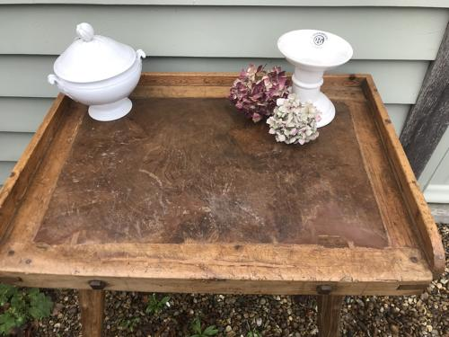 Fine Butcher's Chopping Table