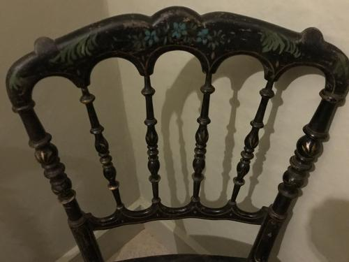 Pretty Painted Occasional Chairs