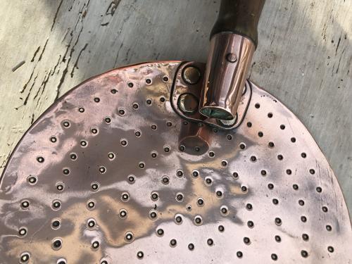Exceptional 'Copper' Cream Skimmer