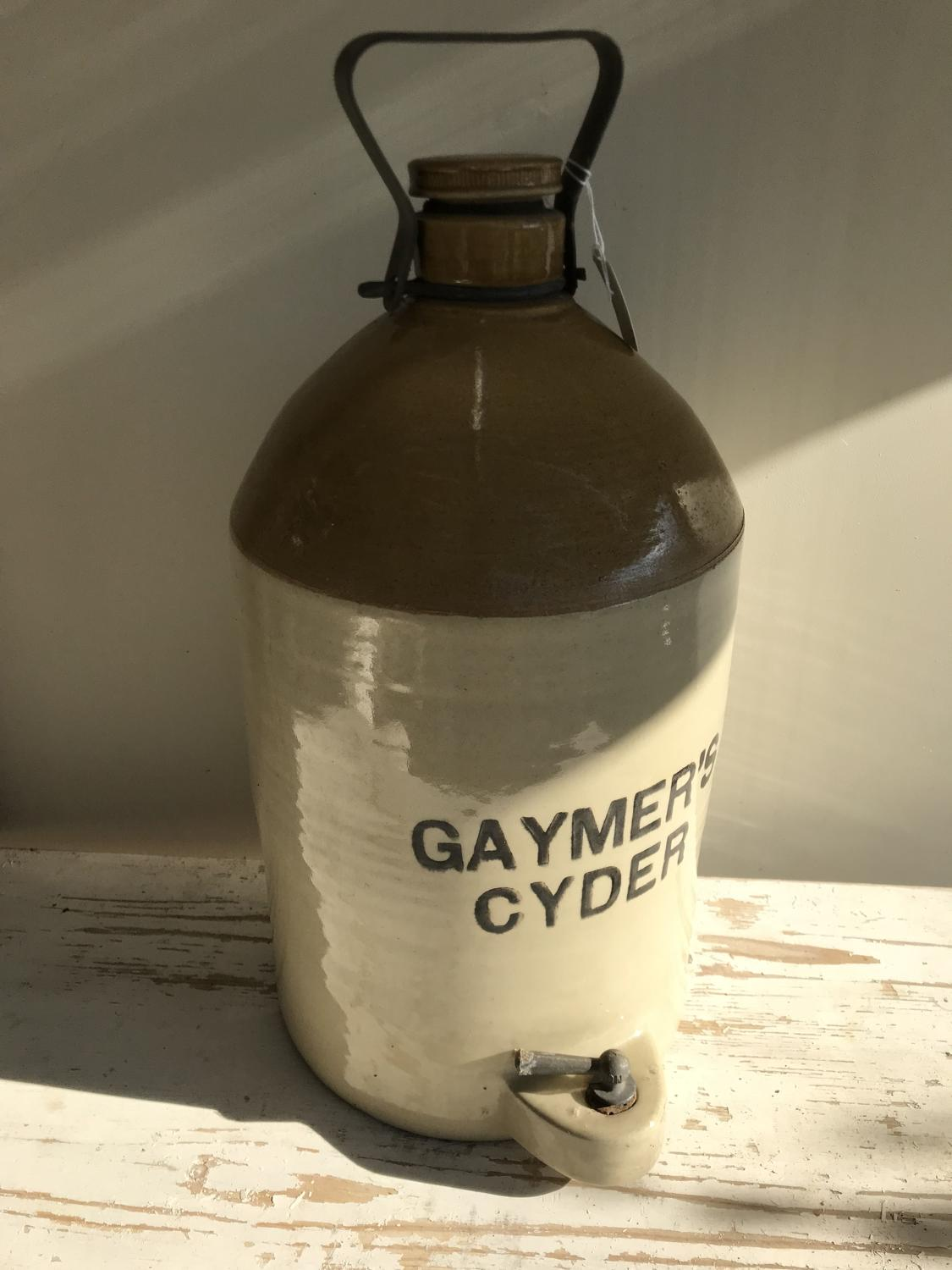 Large Gaymer's Cider Flagon