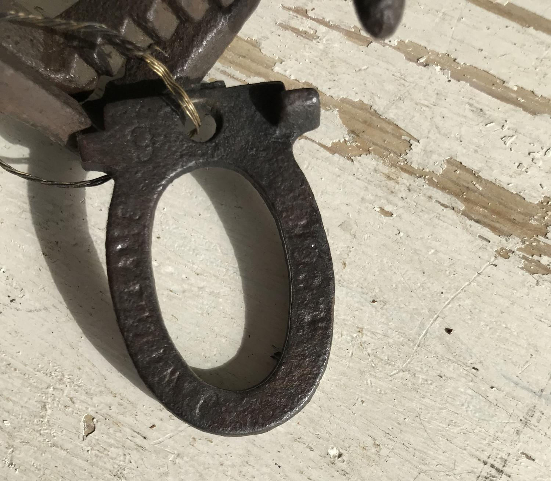 Victorian/Edwardian Cast Iron Mole Trap