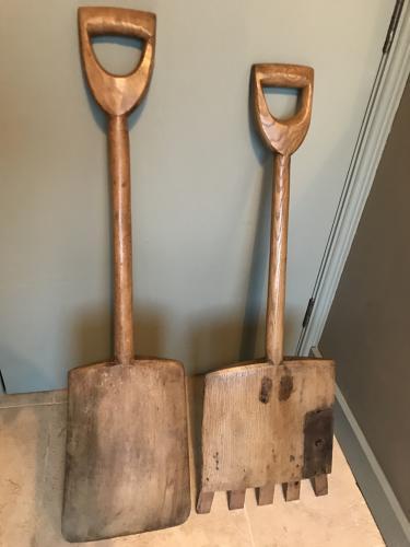 One Piece Malt/Grain Shovel