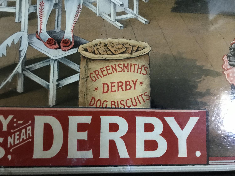 Original Greensmith's Derby Dog Biscuits Showcard