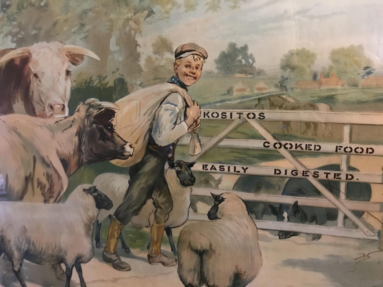 Original Kositos Farm Feeds Showcard