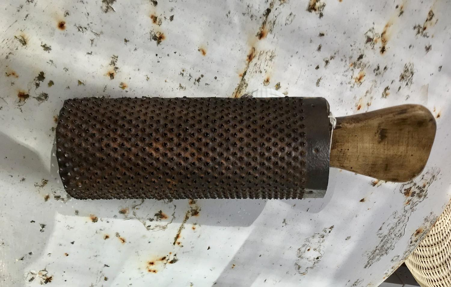 19th Cent Kitchen Grater