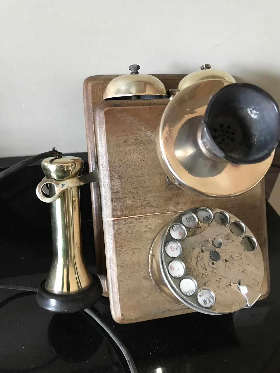 Rare Wall hung GPO 121 Telephone