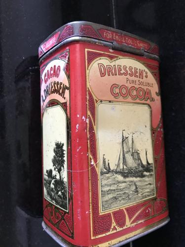 Dreissen's Pure Soluble Cocoa Tin