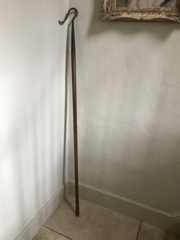 19th Cent Shepherd's Crook (150cm long)