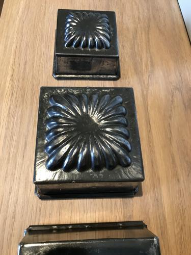 Set of Four BAKER'S BRIOCHE MOULDS