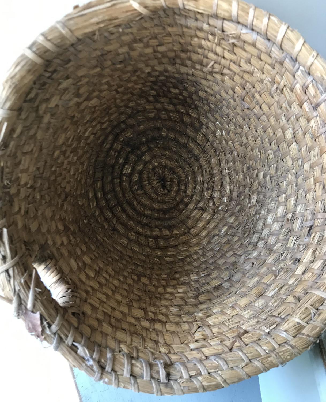 Antique Straw Beehive
