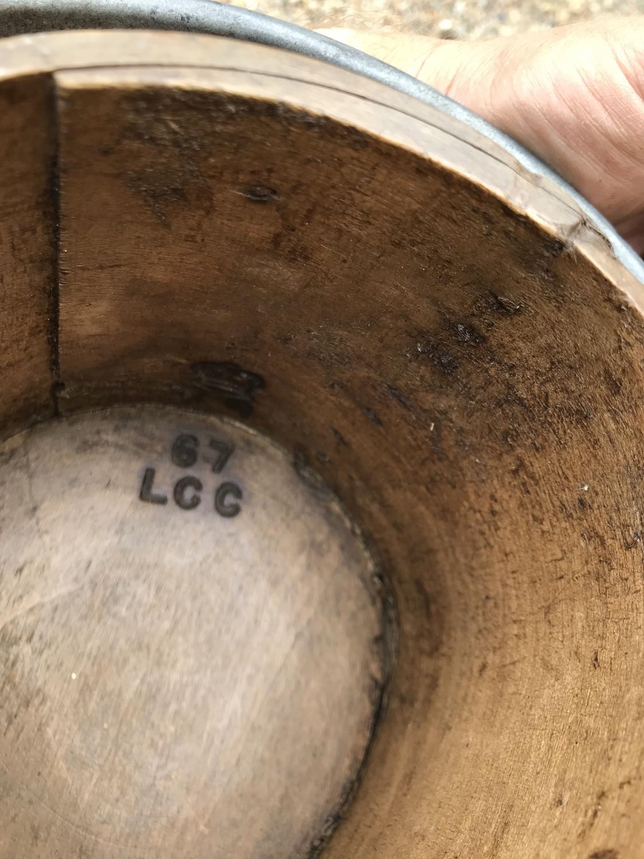 1 Quart Edwardian Grain Measure