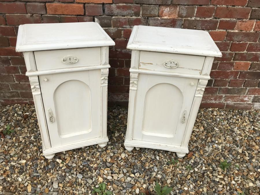 Matching Pair of Bedside Cupboards