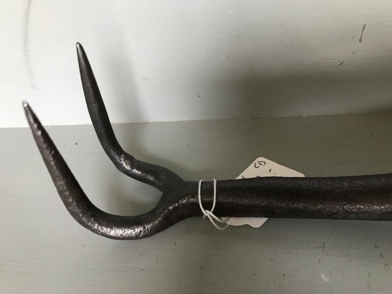 19th cent Turnip Hook