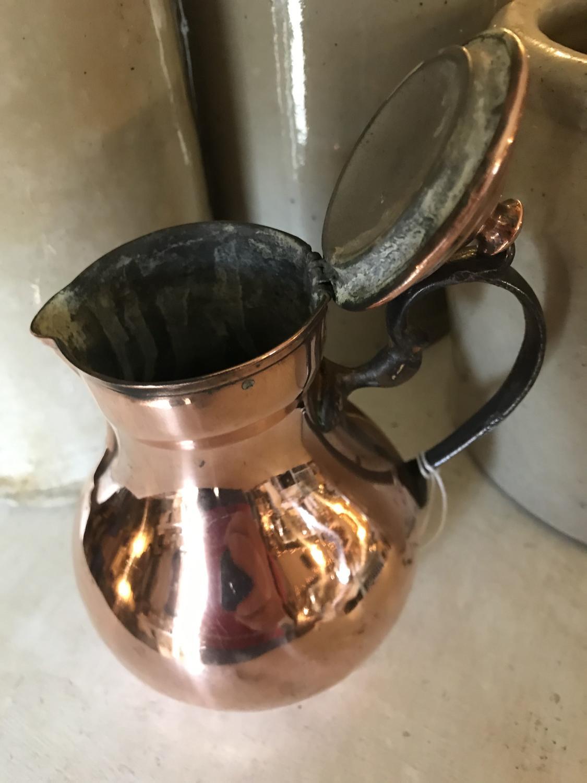 19th Cent small Copper Jug