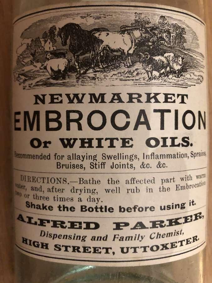 Nrewmarket Medicine Bottle