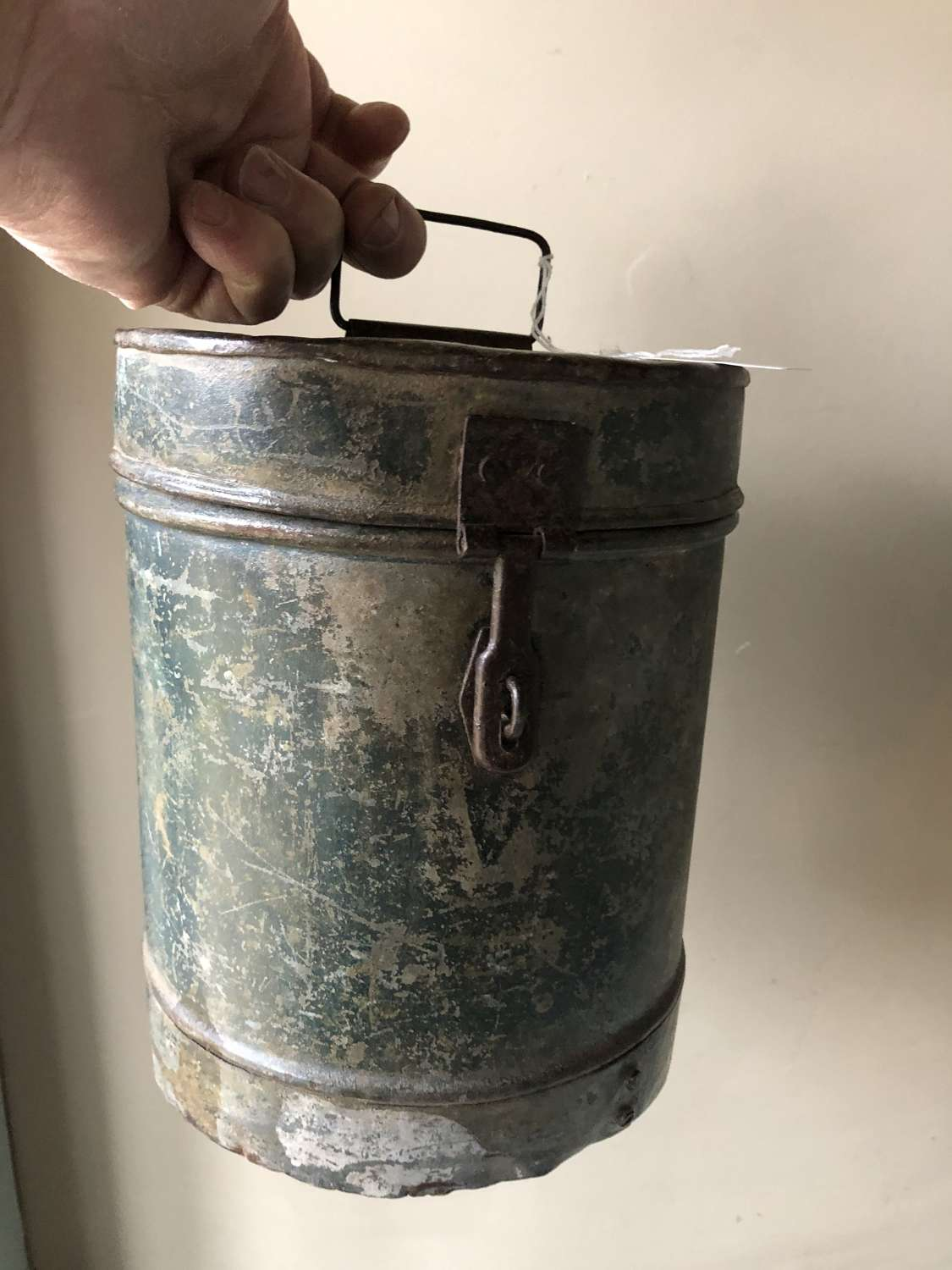 Antique Iron Canister