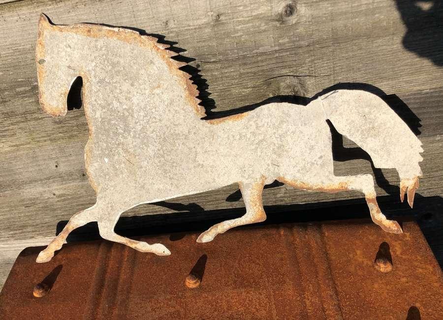 Iron Folk Art Horse