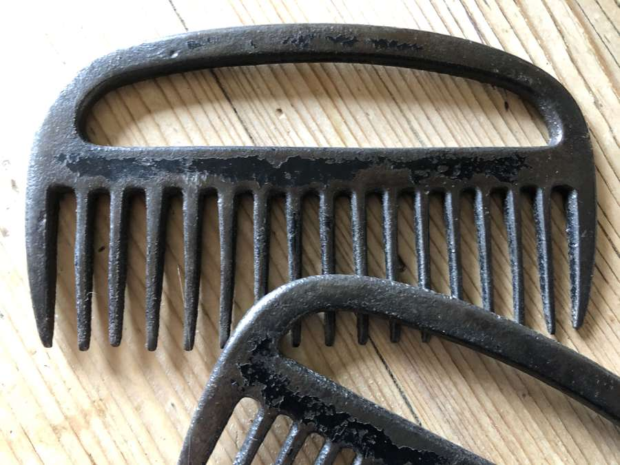 Vintage Horse Mane and Tail Combs