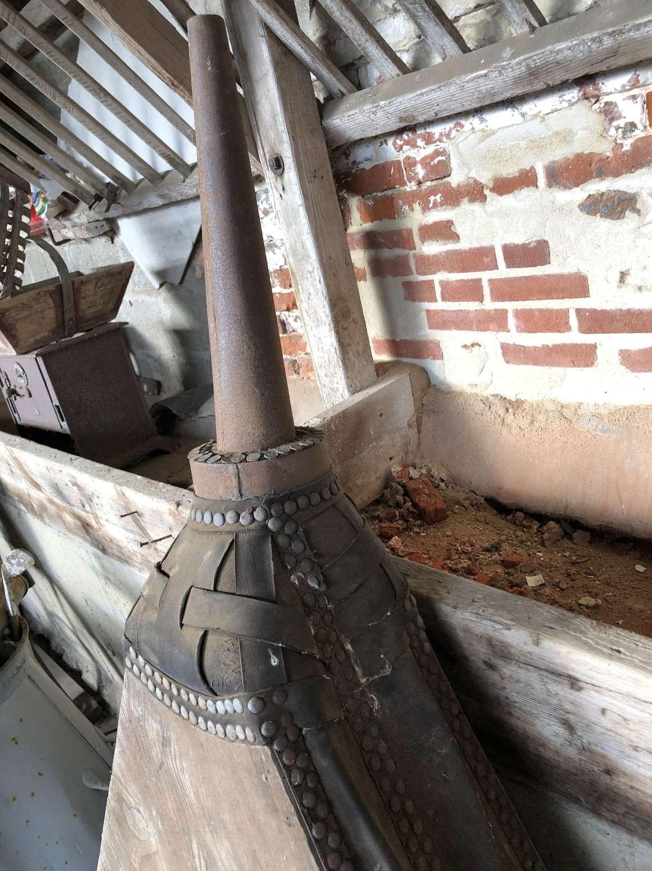 Large Set of Victorian Blacksmith Bellows