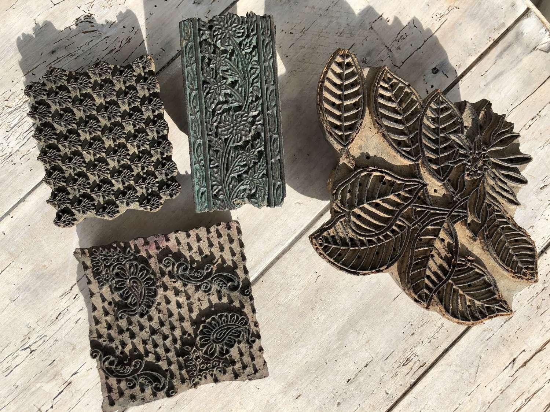 Antique Print Blocks