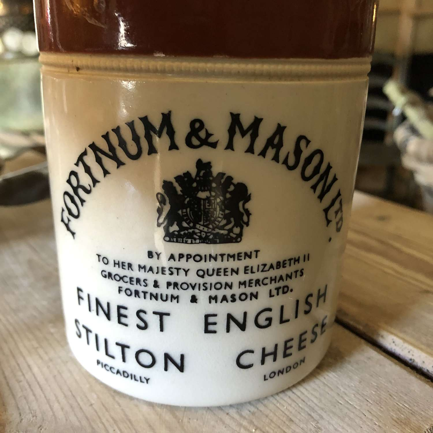Fortnum & Masons Stilton Jar