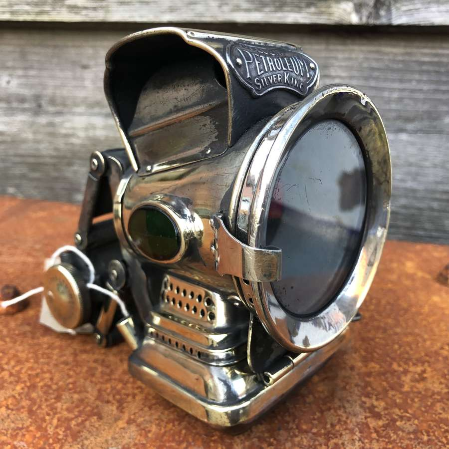 Lucus Silver King Mortorcycle Lamp