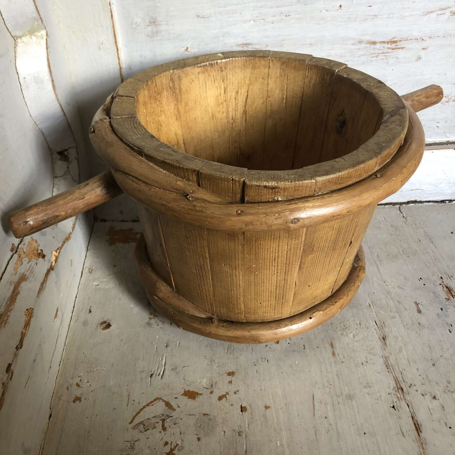 Antique Scandinavian Milk Luggie