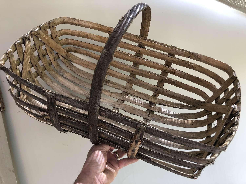 Fabulous Walnut Picker's Basket