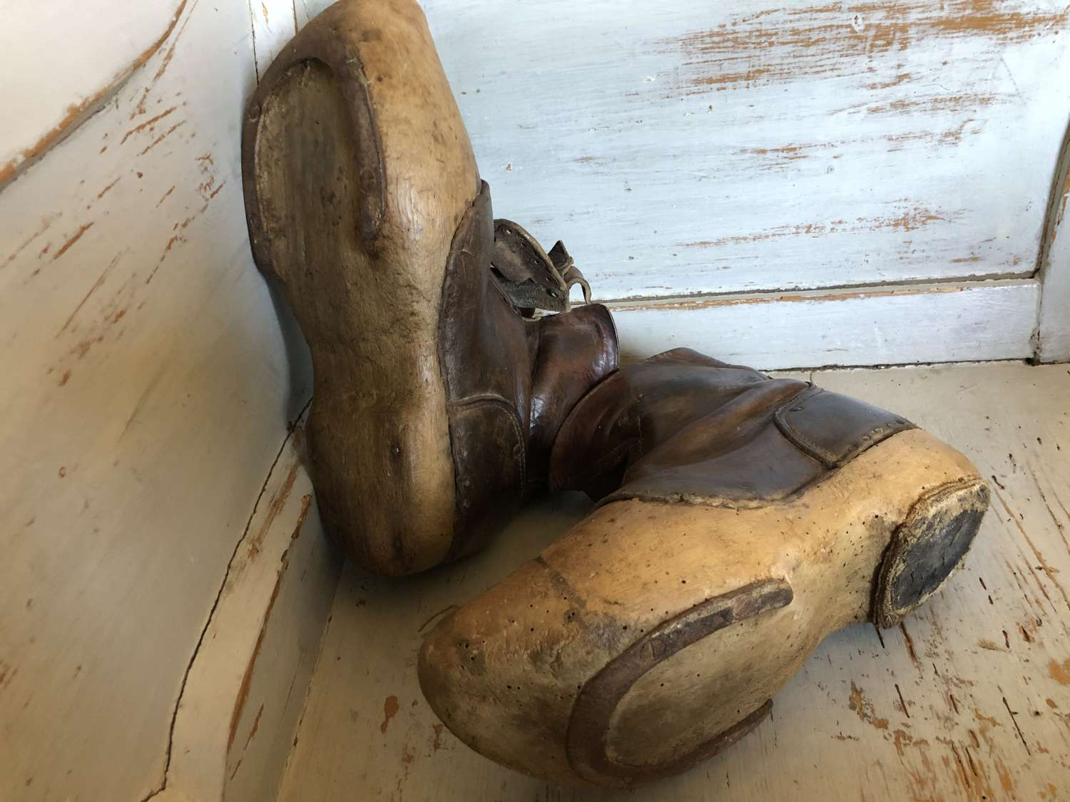 Antique Farm Worker's Boots