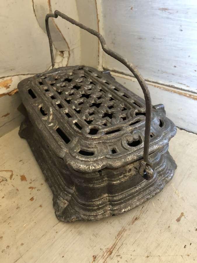 Fine Victorian Foot Warmer