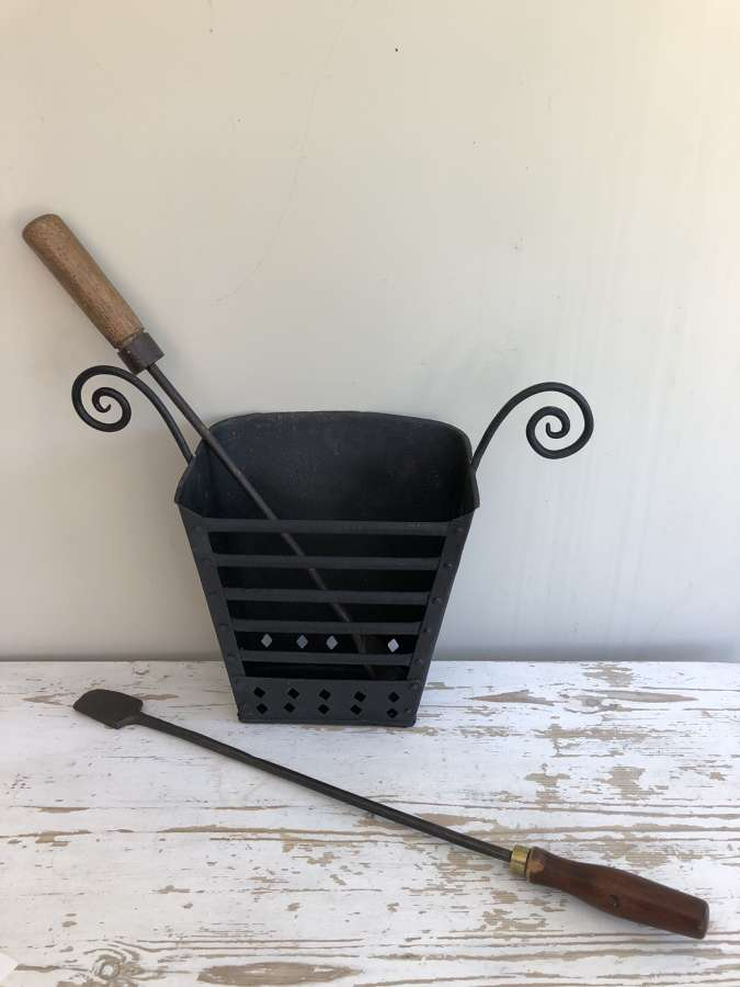 Antique Shepherd's Brazier