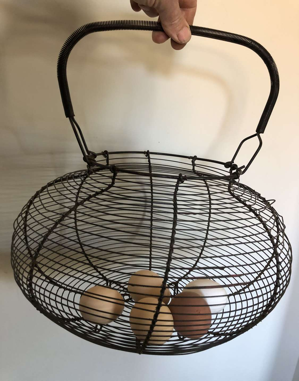 Large Size Wirework Egg Basket