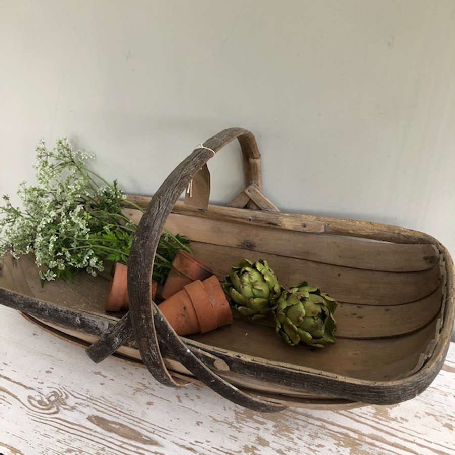 Antique Sussex Trug (large)