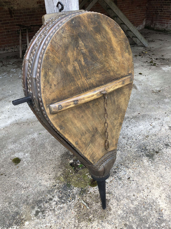 Rare mid size Victorian Blacksmith's Bellows