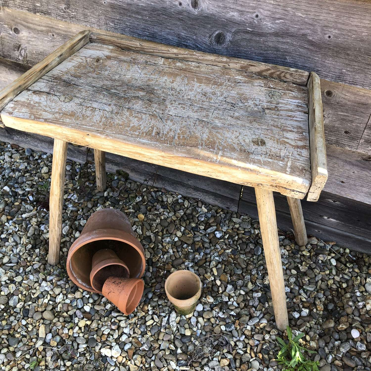 Small Antique Chopping Table