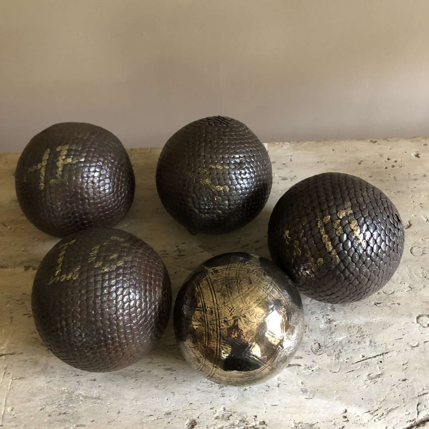 5 Early French Boules