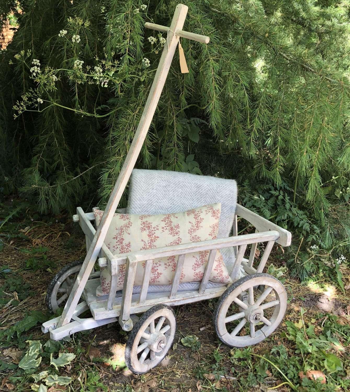Small Antique Handcart