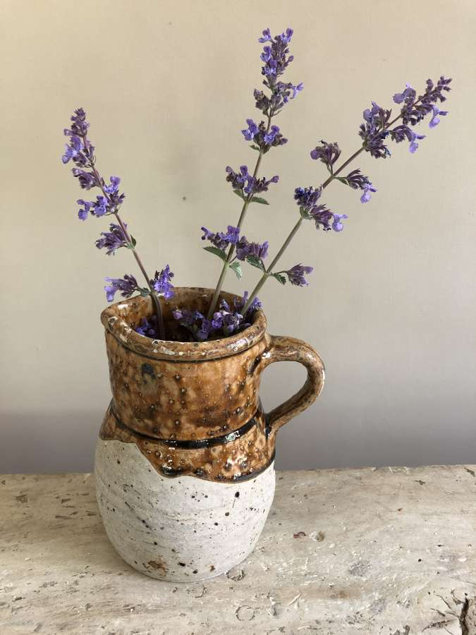 19th Cent French Farmhouse Jug